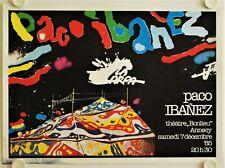 Affiche PACO IBANEZ La Carpa 1985 - illustr JANISZEWSKI