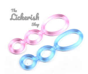 Triple Cock Ring Stretchy Penis Ring Cage Penis Ring Mens Sex Toy Waterproof