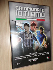 DVD CAMPIONATO IO TI AMO 1988/1989 CALCIO FC INTER CAMPIONE D´ITALIA
