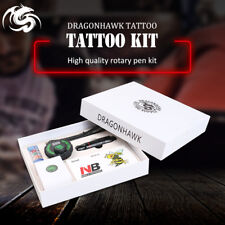 Professional Tattoo Kit Set Rotary Tattoo Machine Pen Power Ink Sets Needles