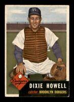 1953 Topps Set Break # 255 Dixie Howell EX-MINT *OBGcards*
