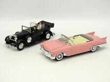 Solido SB 1/43 - Set di 2 : Fiat 525N Papa + Cadillac Eldorado