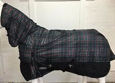 AXIOM 1800D BALLISTIC WATERPROOF GREEN/BLK LIGHT/NO FILL FLEECE HORSE COMBO 6' 3