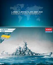 Academy 1/700 USS Missouri BB-63 Ship/Modeler's Edition Plastic Model Kit #14223