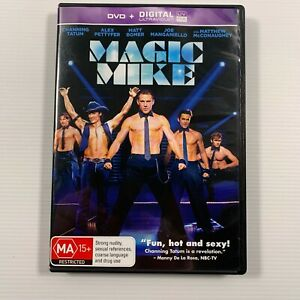 Magic Mike (DVD 2012) Channing Tatum Matthew McConaughey Region 4