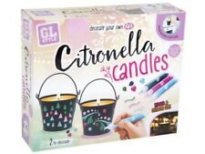 Decorate Your Own Citronella Insect Repellent Scented Candles & Holders R06 0069