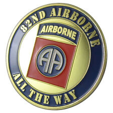 "U.S. ARMY 82ND AIRBORNE ""all the way"" GP coin 1063#"