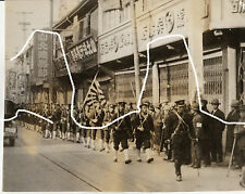 23x18cm ORIG vintage foto di archivio 1932 Giappone Cina Shanghai ghetto WWII wk2 PHOTO