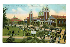 Vintage Postcard CANADIAN NATIONAL EXHIBITION TORONTO Government Bldg 1937