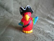 Fisher Price Little People Pirate Pack Parrot Polly Eye Patch Swashbucklers New
