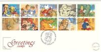 1 FEB 1994 GREETINGS COTSWOLD FIRST DAY COVER PADDINGTON LONDON W2 SHS