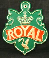 Royal Insurance Company Fire Mark Excellent Condition