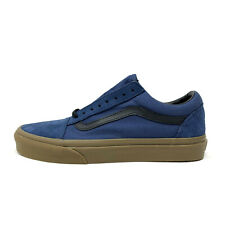 Vans Old Skool Gum Outsole Dark Denim Men's 7.5 Women' s 9 Skate Shoes New Blue