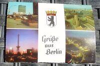 Salutations de Berlin Carte Postale 50er 60er Années Pfb 32 Å