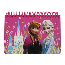 Brand New Disney Frozen Elsa Anna Hot Pink Notebook Memo Book Autograph Book