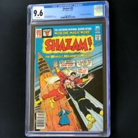 Shazam #28 (DC 1977) 💥 CGC 9.6 WHITE PAGEs 💥 BLACK ADAM KEY! Rock Movie Coming