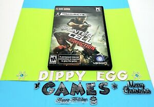 Splinter Cell Conviction windows Pc case + disc only tested works great