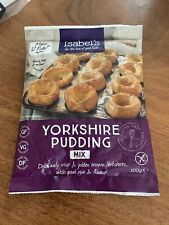 Isabels Yorkshire Pudding Mix 100g (Pack of 7)