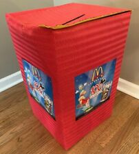 RARE! Disney 100 Years of Magic COMPLETE 100 Piece set McDonalds + Official box