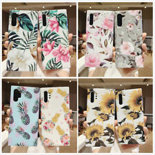F Samsung Galaxy Note 10+ Note10 Plus Case Cute Shockproof Silicone Marble Cover