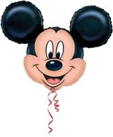 LARGE FOIL SUPERSHAPE BALLOON MICKEY MOUSE HEAD ANAGRAM FOIL BALLOONS