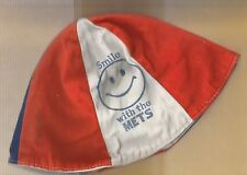 Vintage Smile With The Mets Beanie Hat Orange/Blue/Off-White