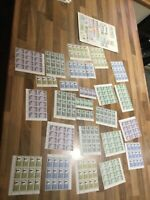 Afghanistan mint never hinged Stamp sets and 25 blocks == ag