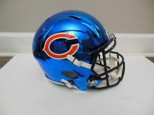 Riddell NFL Chicago Bears Chrome Replica Speed Full-Size Helmet