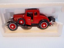 THE NATIONAL MOTOR MUSEUM 1932 CHEVY COUPE 1/32 SCALE NEW WITH C.O.A. c