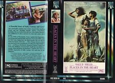 PLACES IN THE HEART - Sally Field -VHS-PAL-NEW-Never played!-Original Oz release