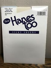 Hanes Too Silky Sheers Pantyhose Control Top Pearl Style H58 Size AB