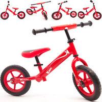 Kiddo Red Kids Children Balance Bike Metal Boys Girls RunningTraining Bike