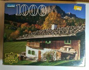 Jigsaw puzzle - 1000 piece - untersberg germany  scene- free post