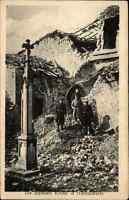 1915 Feldpost-AK 1. Weltkrieg Zerstörte Kirche Hattonchâtel Grande Guerre War