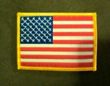 American Flag Patch Usa United States of America iron-on sew-on new Us