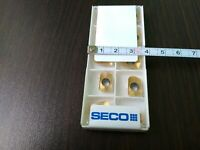 SECO XOEX 120424R-M07 F40M 10 PCS CARBIDE INSERTS FREE SHIPPING