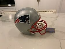 Tom Brady Signed F/S Replica New England Patriots Helmet Mounted Memories
