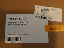Service set WTC 25/32-A Weishaupt - 48111100172