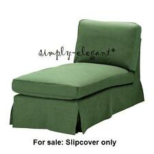 IKEA EKTORP Cover for free-standing EKTORP chaise lounge slipcover Svanby Green