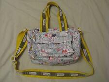 LeSportsac 'Fifi Lapin' Sweethearts Print Field Trip Duffle Bag - Rare & HTF