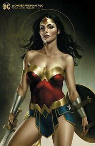 Wonder Woman #760 Cvr B Joshua Middleton Card Stock Var (2020 Dc Comics)