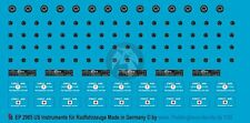 Peddinghaus 1/35 US Army Instrument Markings for Jeep and Other Vehicles 2985