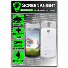 ScreenKnight Samsung Galaxy S4 FULL BODY SCREEN PROTECTOR invisible shield