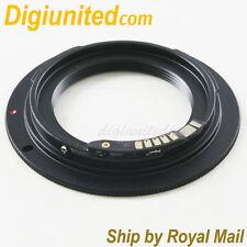 Macro EMF AF III Confirm M39 L39 Lens To Canon EOS EF mount adapter 5D 70D 700D