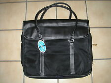 New GNBI RN# 102635 Black Leather Tote