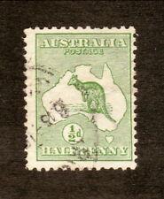 Australia--#1 Used--Kangaroo--1913