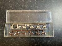 Suitable Marklin spur z scale/gauge Vintage Merten Horses. New.