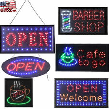 Shop Led Neon Light Animated Motion with On/Off Open Business Sign Ultra Bright