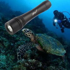 Tactical 50000LM Powerful Underwater 50M  T6 LED Diving Flashlight Torch Light!