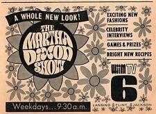 1970 WJIM TV AD~MARTHA DIXON SHOW~FLINT~LANSING~JACKSON,MICHIGAN CHANNEL 6
